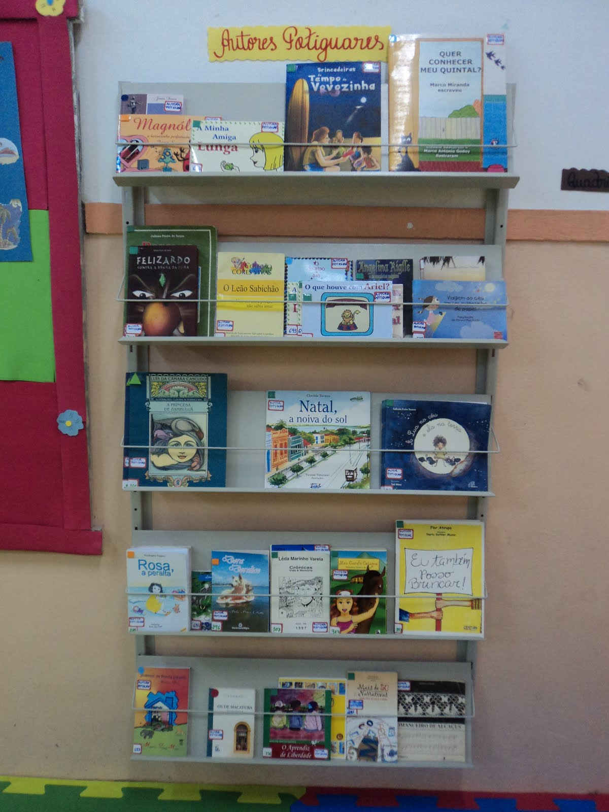 decoracao sala de leitura na escola:ESCOLA ESTADUAL ISABEL GONDIM: Decoração da Sala de Leitura