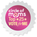 Homeschool Circus is in the Circle of Mom's Top 25 Homeschool Blogs