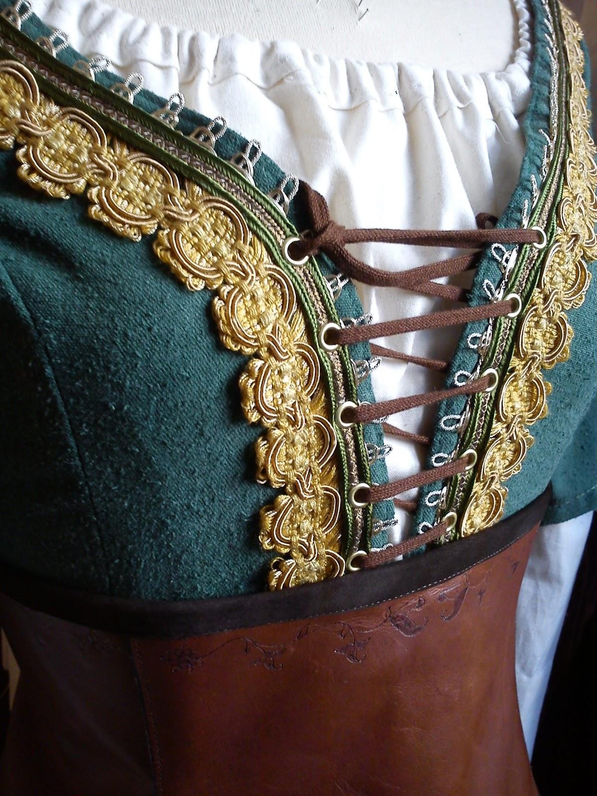 essayage du corset