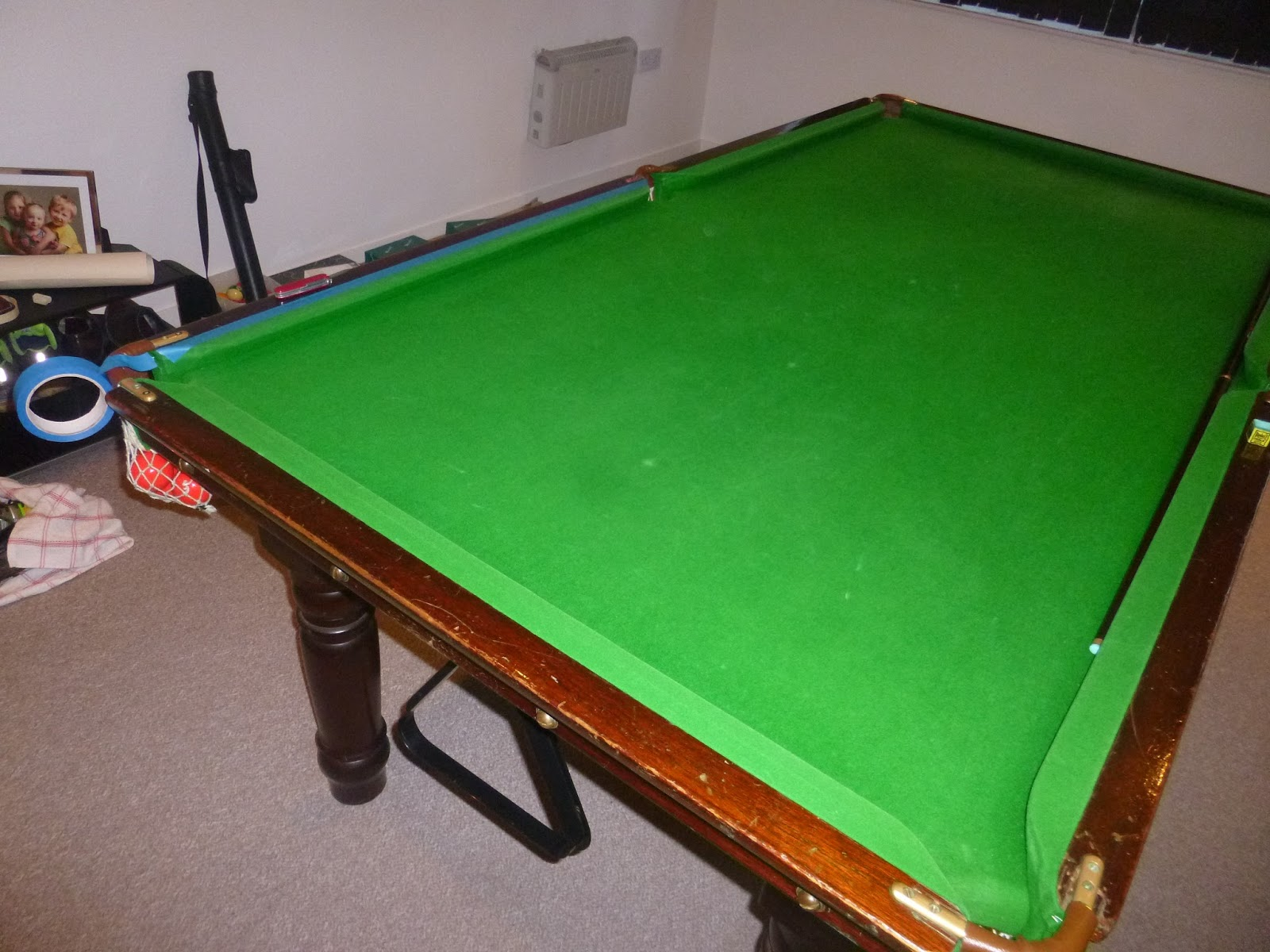 The Sprightly Dugong Operation Snooker Awesome - How do you take apart a pool table