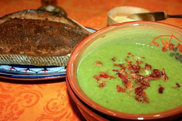 Cheating on Winter Pea Soup