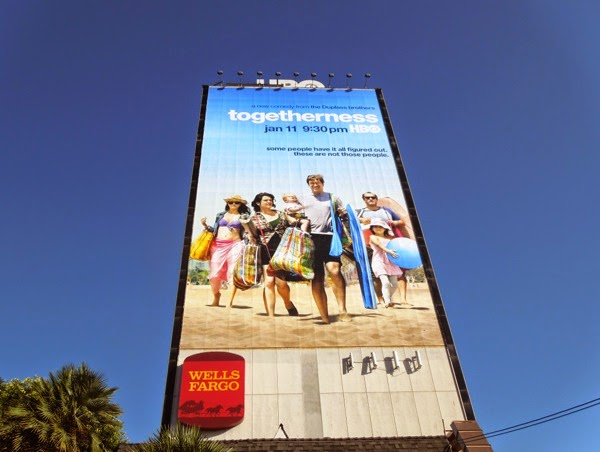 Giant Togetherness HBO season 1 billboard
