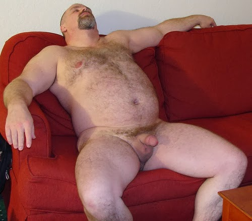 усатым жирным мужиком с порно и