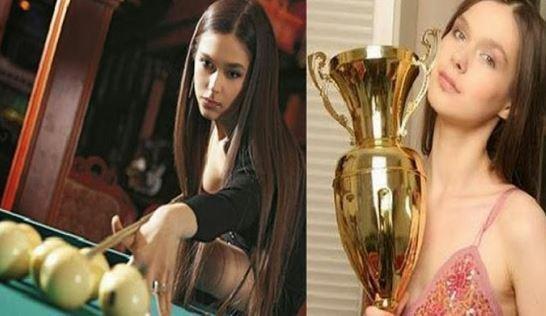 Anastasia Luppova Pemain Biliar Paling Cantik Dan seksi
