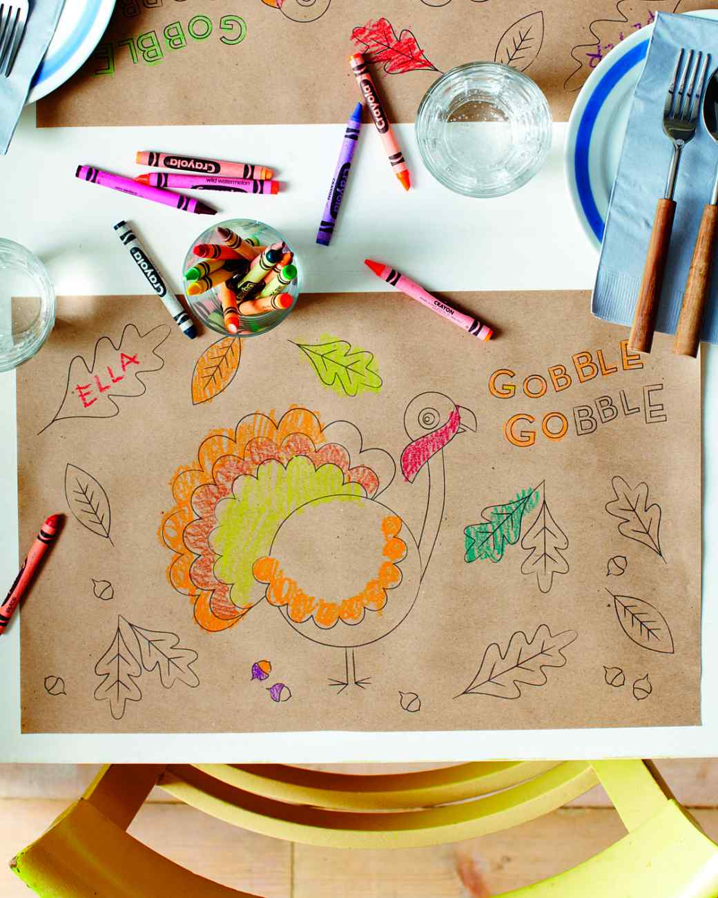 Thanksgiving Placemat Coloring Pages Munchkins And Mayhem