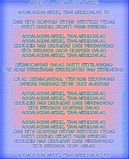 Lyric Lagu Religi 2013/1434 (Bergambar) Gamma1-Assalamualaikum