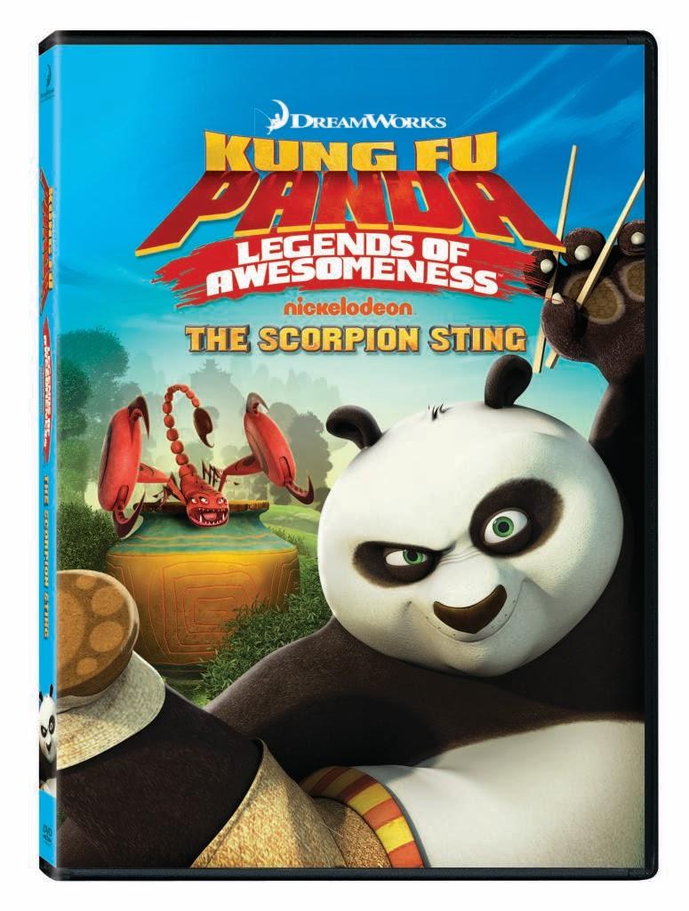 Kung fu panda legends of awesomeness the scorpion sting