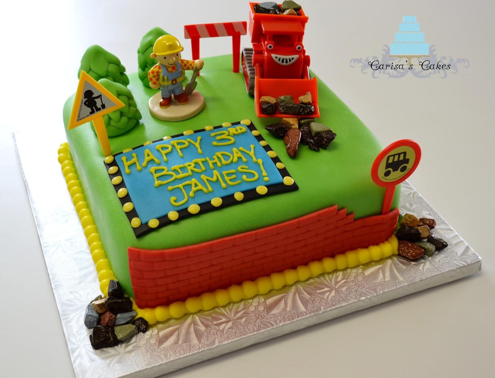 Carisas Cakes Bob the Builder Birthday Cake