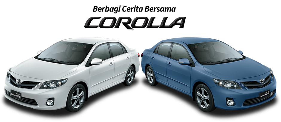 mobil sedan corolla