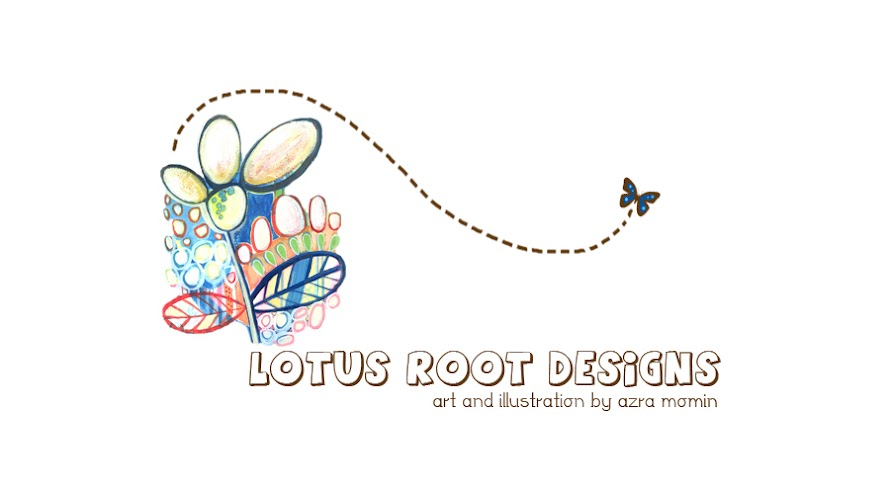 LotusRootDesigns - Illustrations by Azra Momin