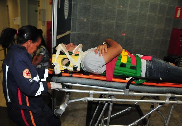 Acidente com o zagueiro Victorino do Cruzeiro