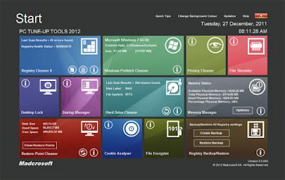 PC TuneUp Tools 2013 v8.0.044