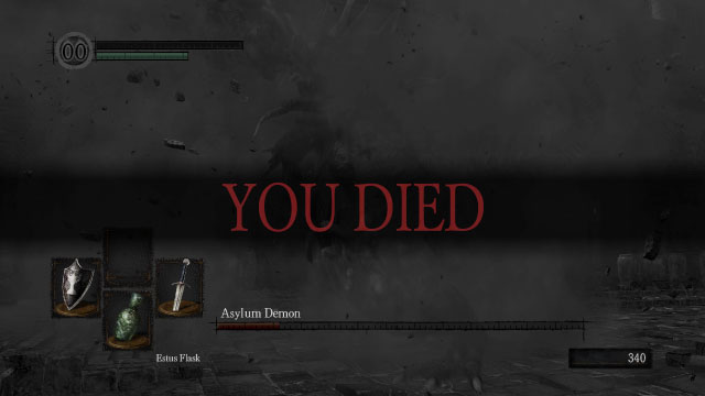 Dark Souls PC You Died