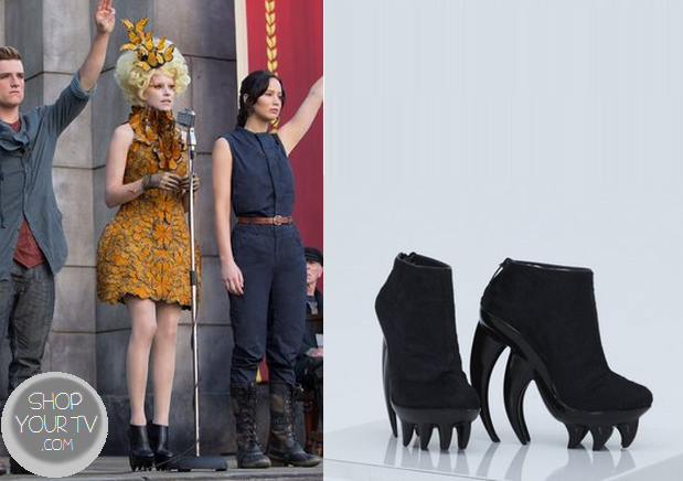 Catching Fire: Effie's Spiked Bottom Booties