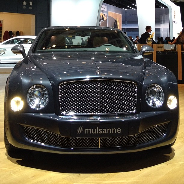 Bentley Mulsanne: Bentley Mulsanne From Instagram