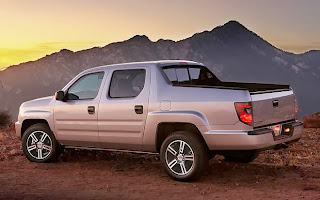 2015 Honda Ridgeline Spy Photos