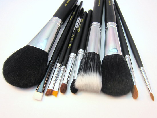 Affordable makeup brushes from AYU Dublin