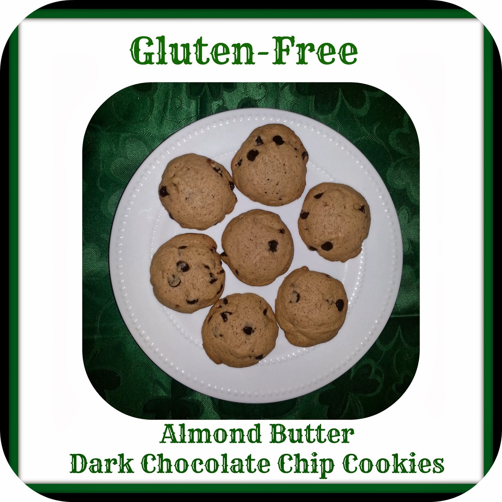 ... way thru life: Gluten ~ Free Almond Butter Dark Chocolate Chip Cookies