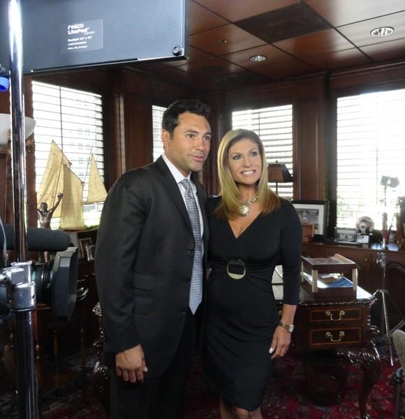 Oscar de la Hoya: sí, me drogué, fui iniel y me vestí de mujer