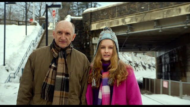 Peter McRobbie and Olivia DeJonge in The Visit