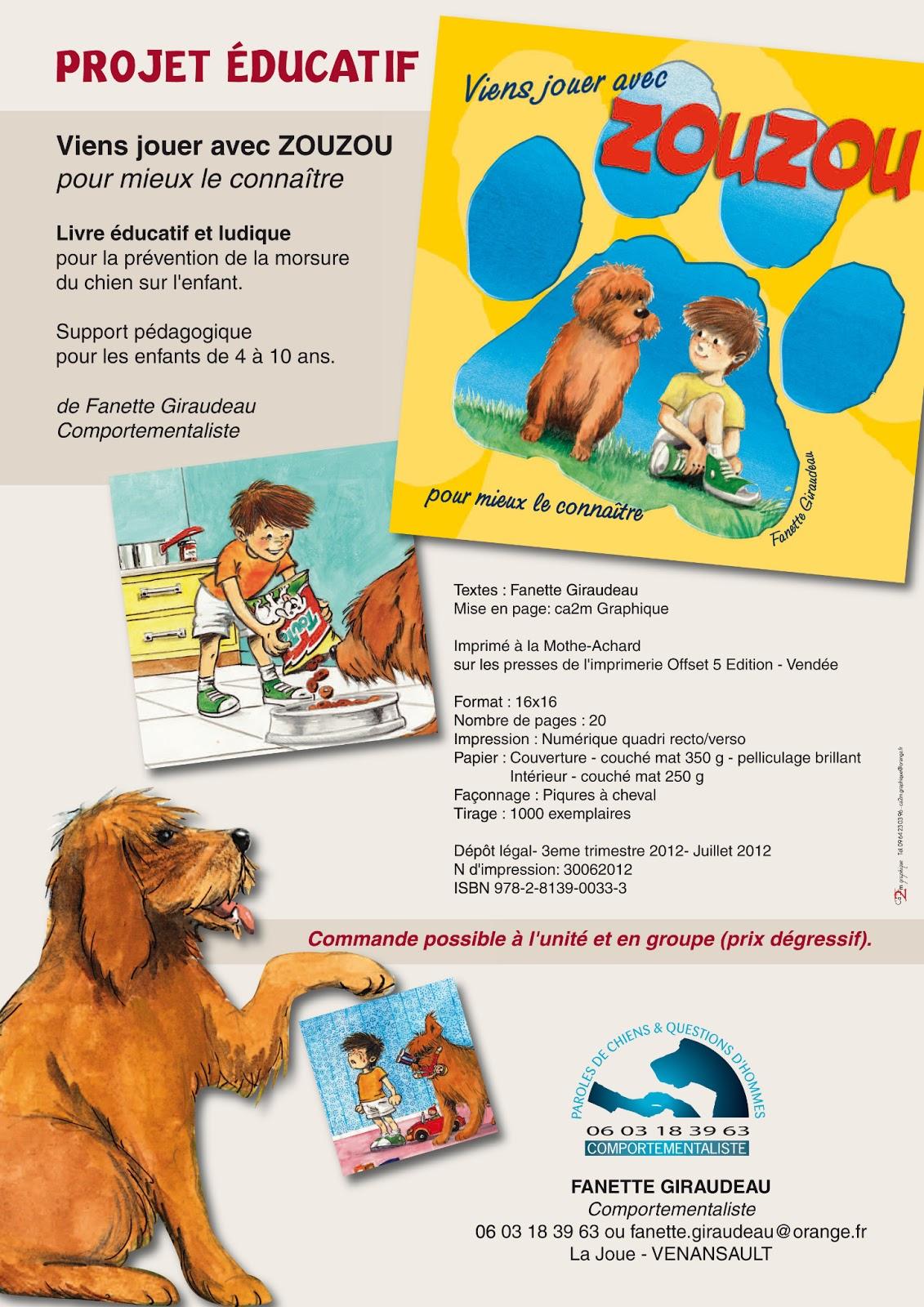 L'enfant et le chien: morsures Pr%C3%A9sentation+Zouzou