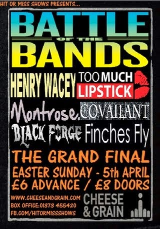 Frome Battle of The Bands 2015
