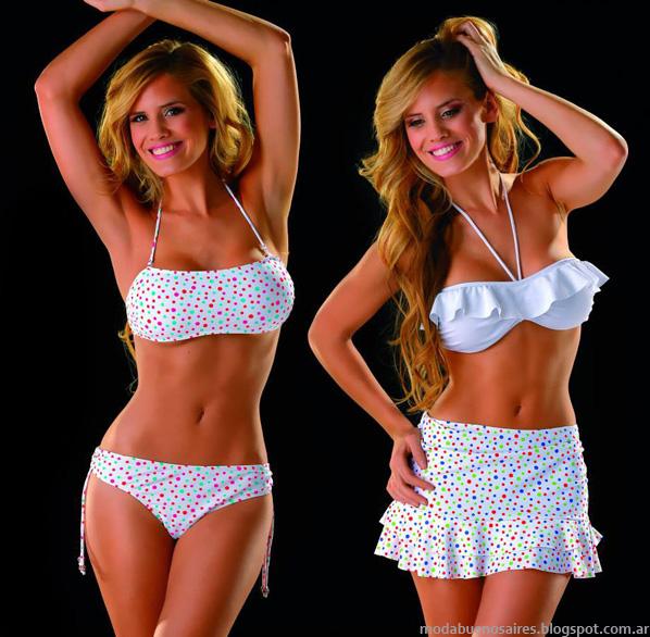 Bikinis de moda verano 2014 PAul Klee,