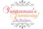 @20 june: Yanasensei's Giveaway!