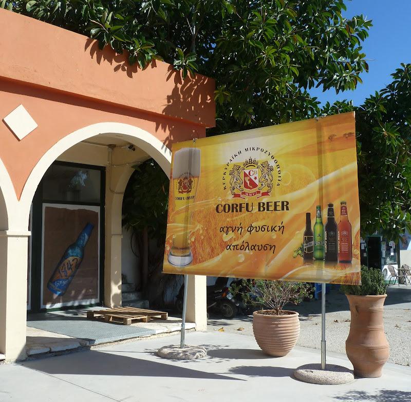 Corfu Beer - Kleinbrauerei in Arillas (Korfu, Griechenland)