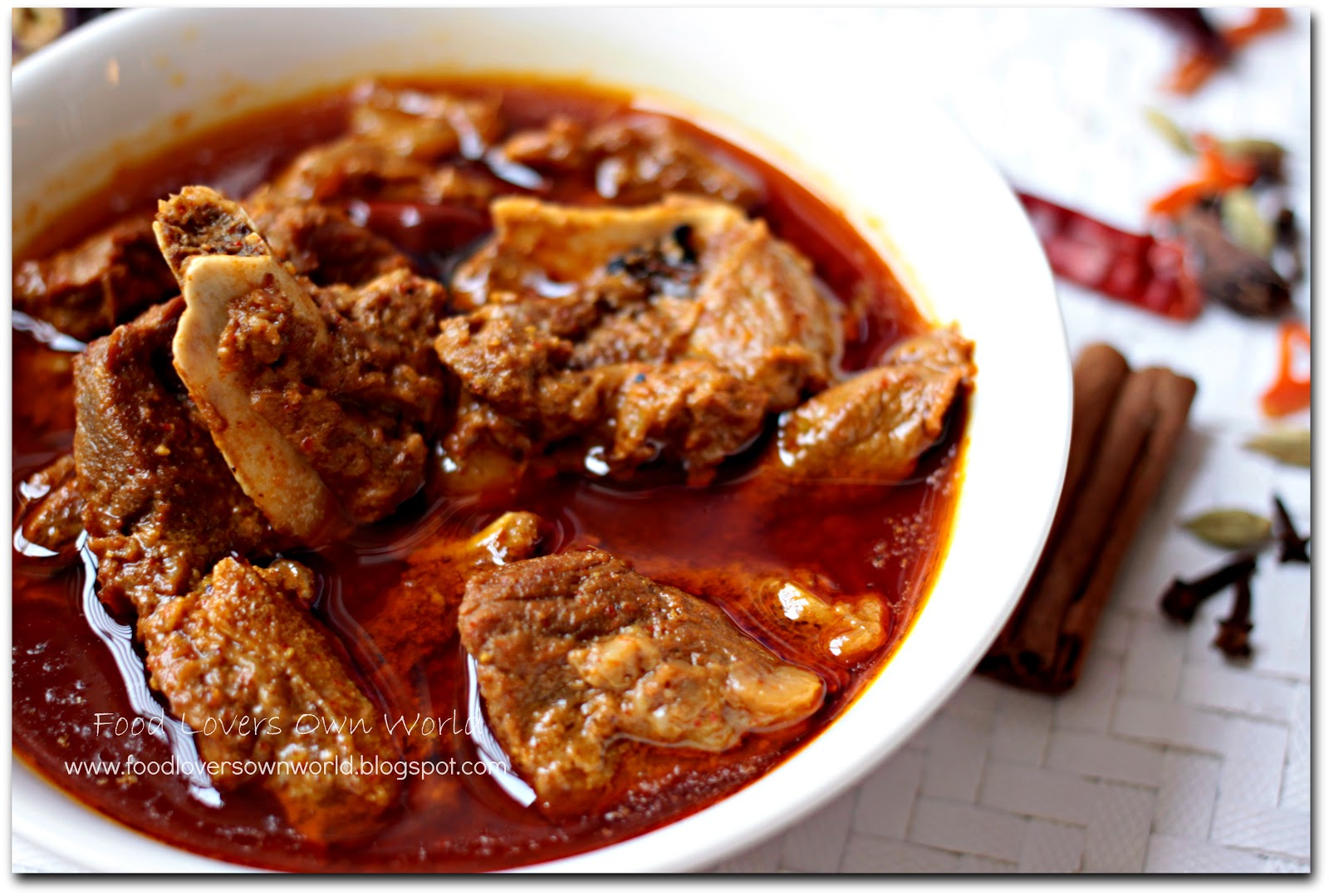 "Food Lover's Own World: ""Rogan Josh"" episode! (Kashmiri ..."