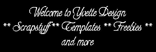 Welkom bij YvetteDesign