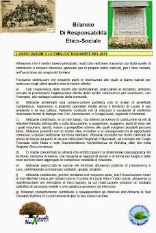 IL BILANCIO SOCIALE E DI MISSIONE PER L'ANNO 2014