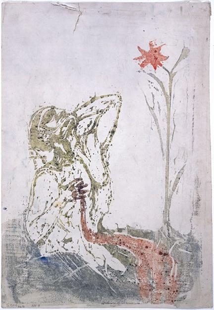 Smertens blomst - Edvard Munch - Blossom of Pain