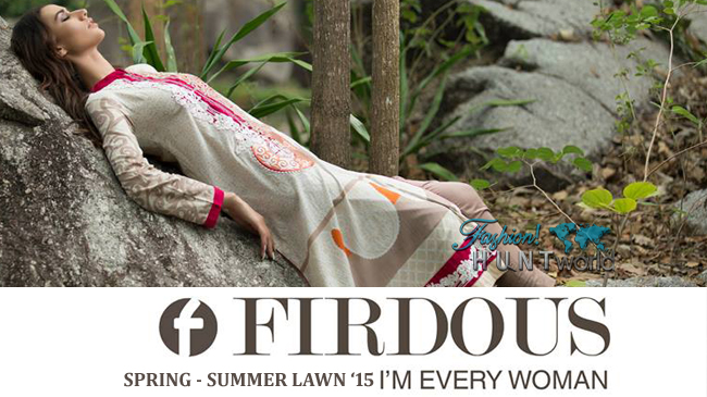 Firdous Cloth Mills Spring/Summer 2015 Look Book