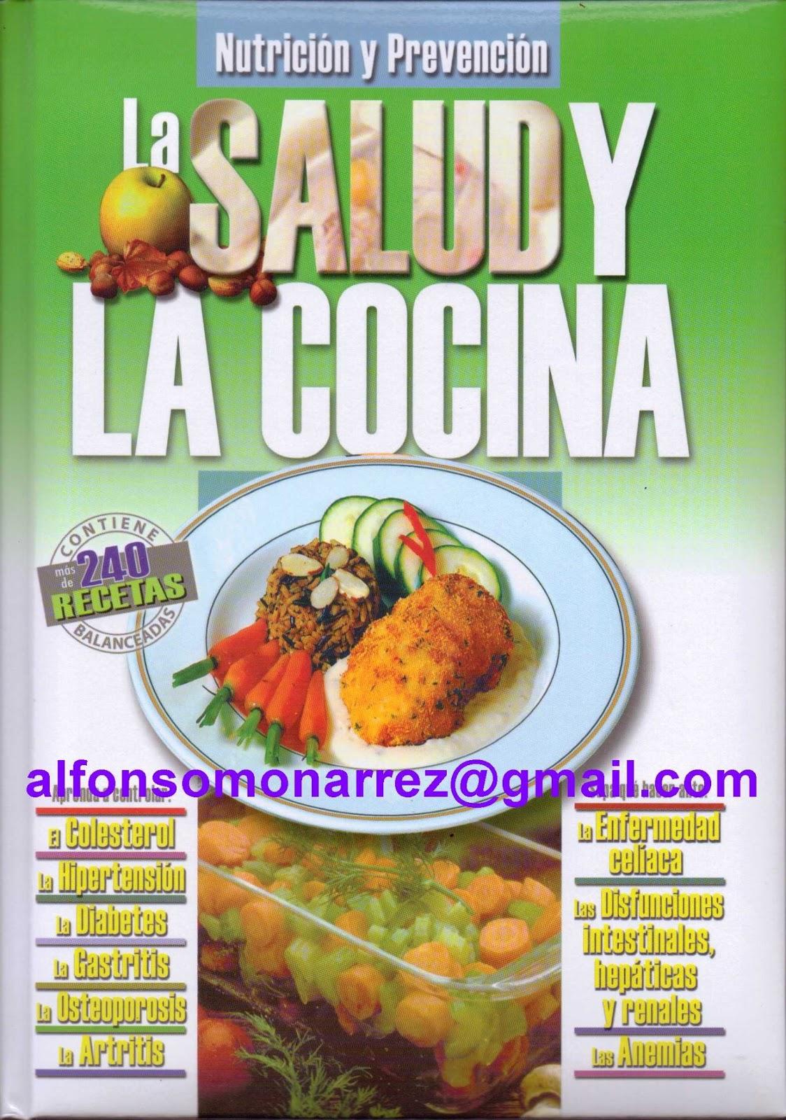 Libros nutrici n prevenci n cocina saludable for Cocina saludable