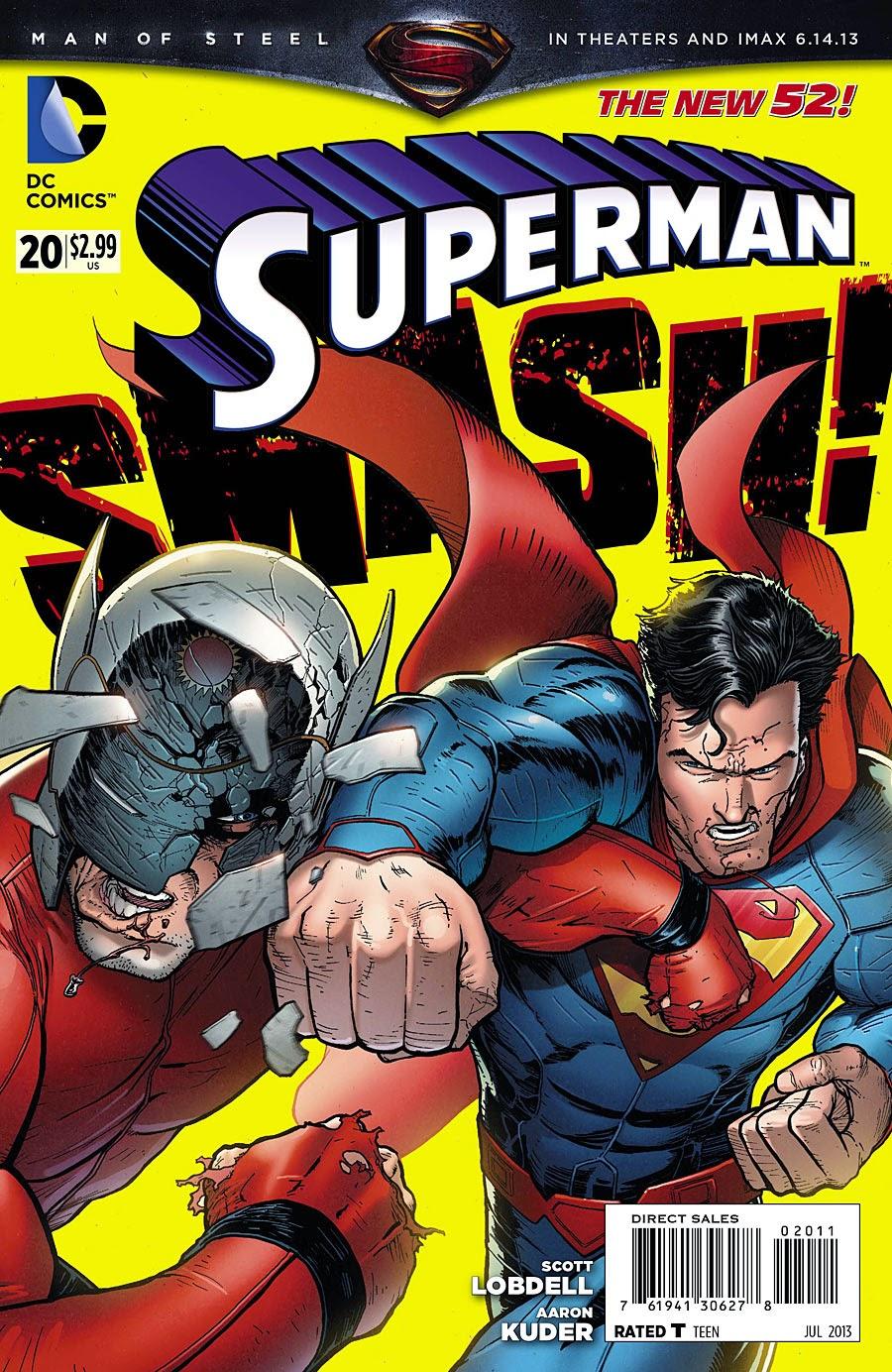 Superman Comic Book White Cover ~ The gallifreyan gazette greg pak and aaron kuder new