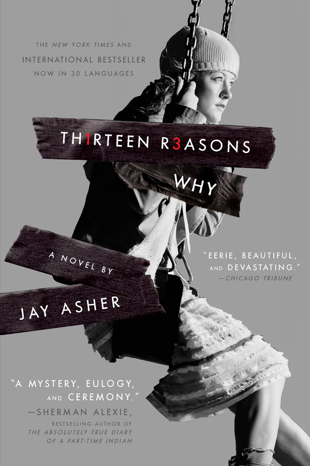 13 Reasons Why Book Cover
