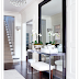 Yay or Nay: leaning a mirror behind a console table...
