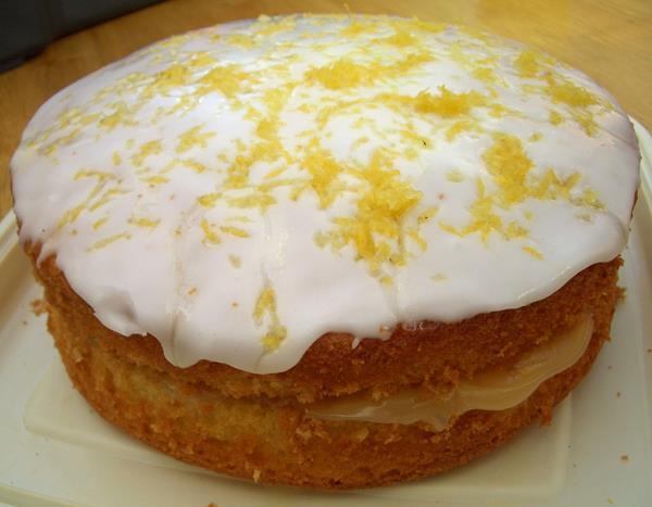 Jammk Lemon Layer Drizzle Cake
