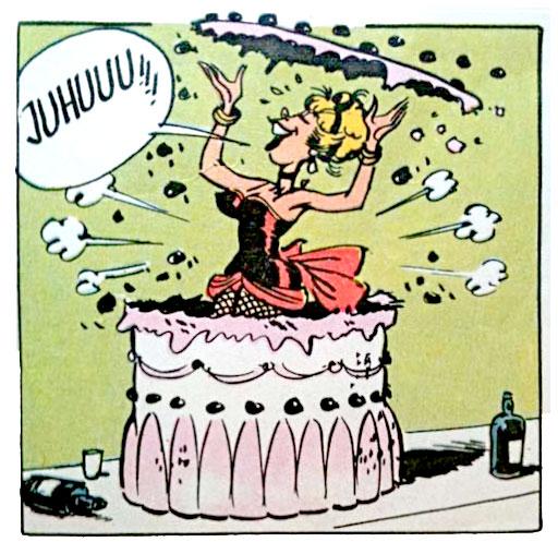 dalton city lucky luke cake