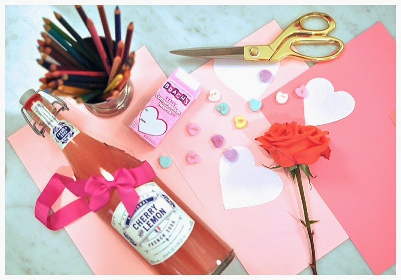 toddler valentine making party