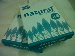 kertas natural a4 70 gram