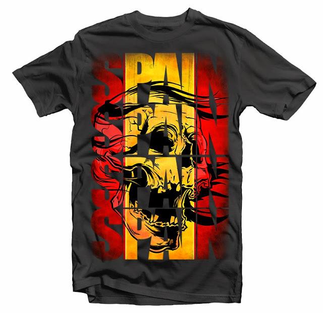 Spain Flag Tshirt