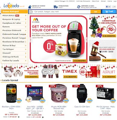 Toko online Terbaik dan Terbesar indonesia - Lazada