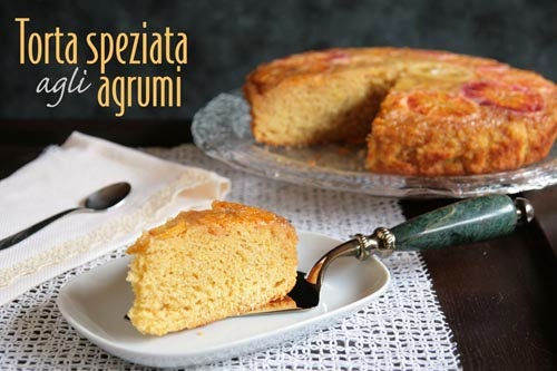 torta speziata agli agrumi (winter citrus upside-down cake) per re-cake