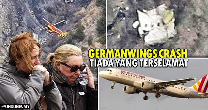 Nahas pesawat Germanwings, semua penumpang, anak kapal terkorban