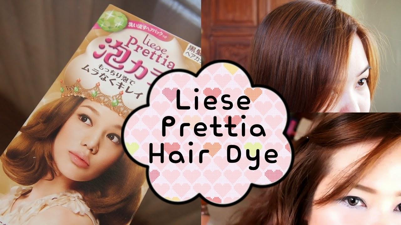 Lots Of Girl Stuff Liese Prettia Bubble Hair Dye Milk