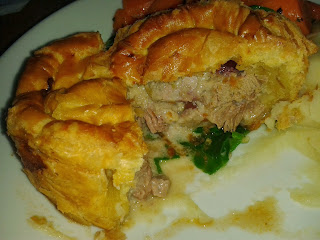 Inside the Canteen Turkey Pie