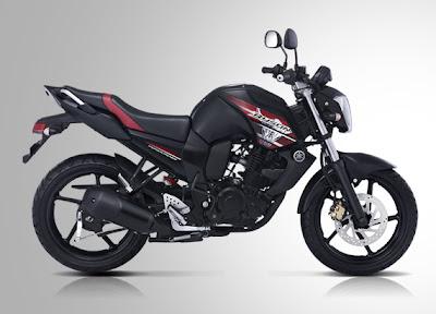 Gambar Motor Yamaha Byson Hitam