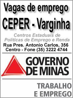 CEPER Varginha: Vagas de emprego